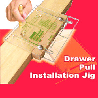 Draw Pull Drilling Jig